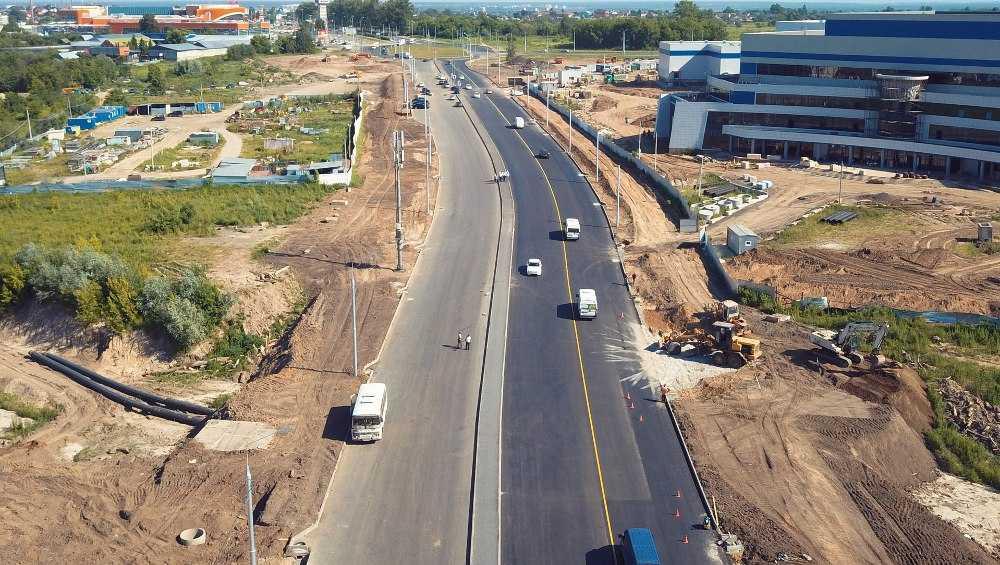 В Брянске вдоль Объездной улицы начали строит тротуары до «Аэропарка»