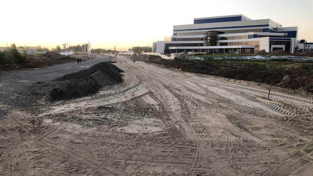 Расширение дороги на Объездной улице Брянска завершится в 2021 году