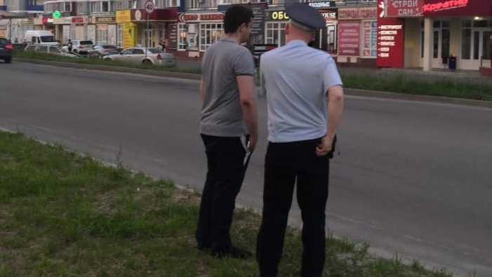 В Брянске полицейский пытался скрыться с места массовой аварии