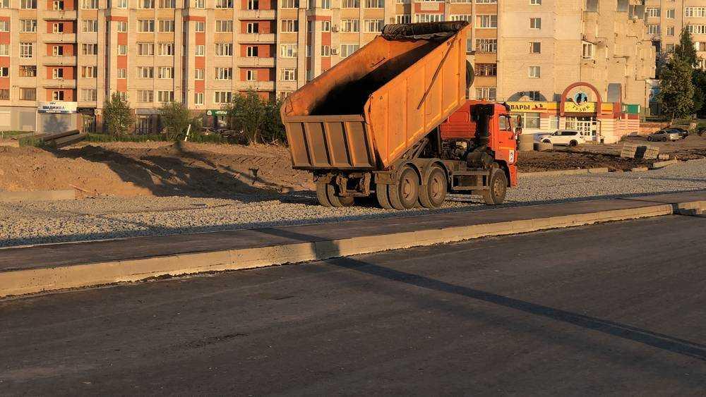 В Брянске на Объездной улице подготовили для асфальтирования всю дорогу