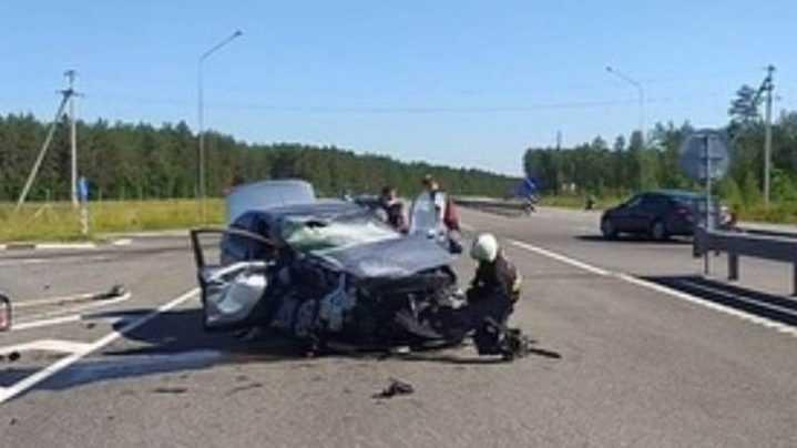 Житель Брянской области стал виновником серьезной аварии в Белоруссии