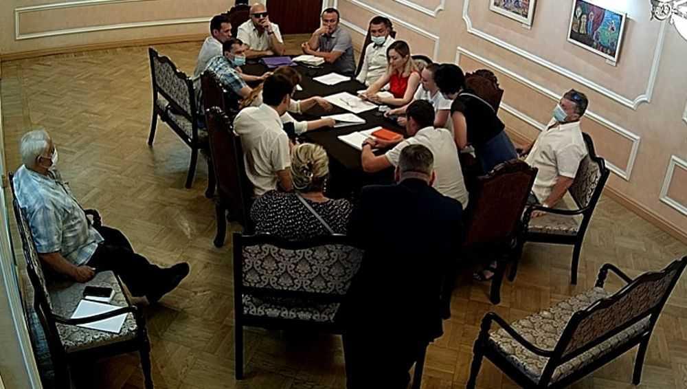 В брянском драмтеатре обсудили предстоящую реконструкцию здания