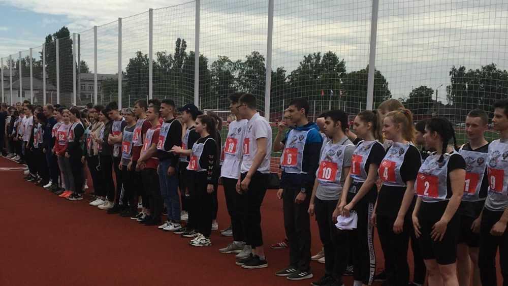 В Брянске прошел фестиваль ГТО среди учащихся средних специальных учебных заведений