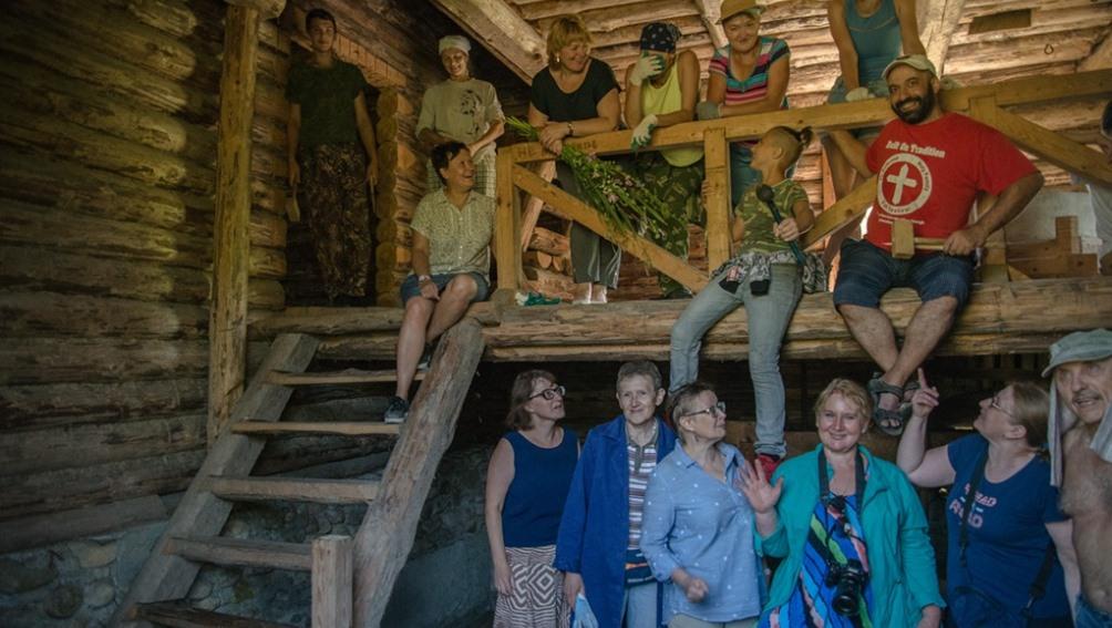 В Овстуге продолжили восстанавливать единственную на Брянщине водяную мельницу