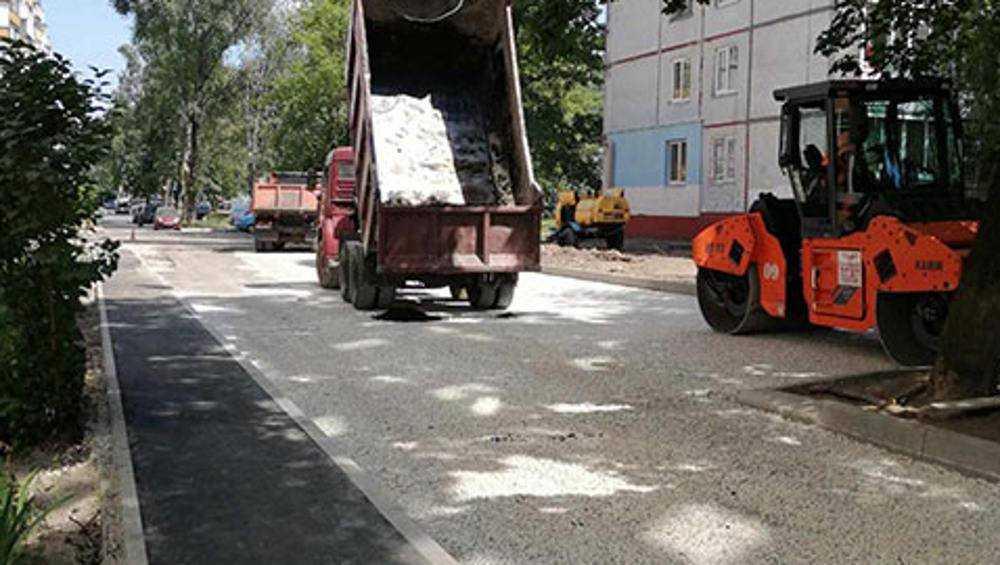 В Брянске отремонтируют 17 дворовых территорий