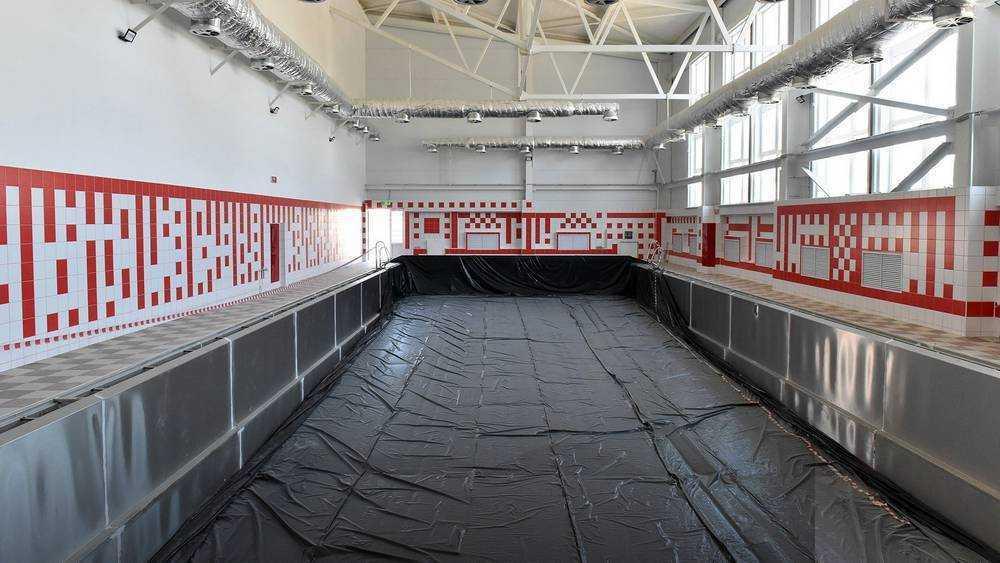 В Фокинском районе Брянска подготовили к вводу спорткомплекс «Спартак-Арена»