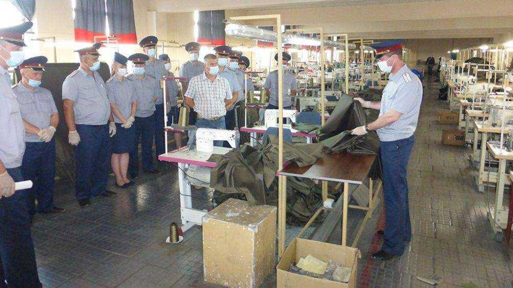 В брянских исправительных учреждениях состоялись учебно-методические сборы сотрудников производственных служб
