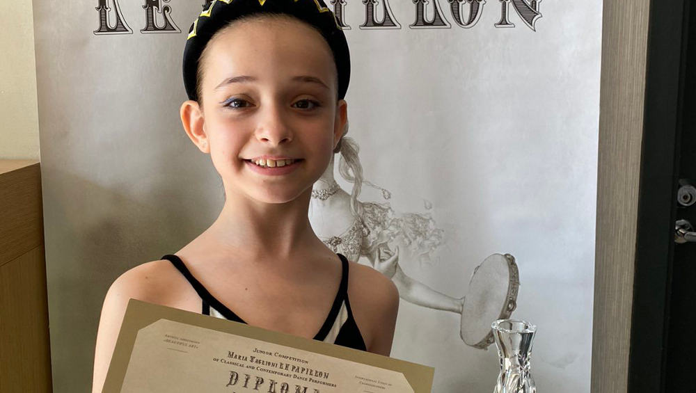 Юная брянская балерина победила на всероссийском конкурсе