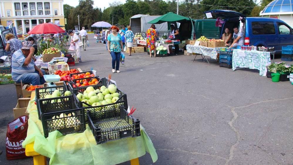 Во всех районах Брянска открылись 20 овощных  базаров