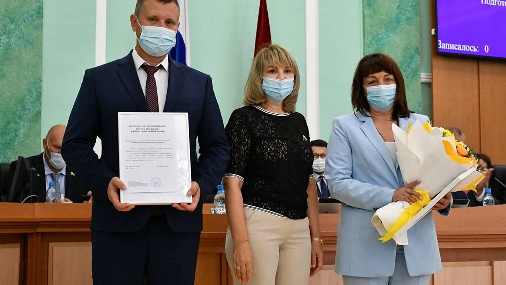 Замгубернатора и главврача 4-й больницы Брянска наградили за борьбу с COVID-19