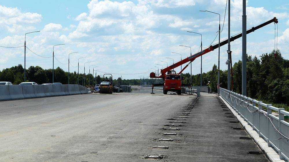Байкер проехался по новой дороге от вокзала Брянск-I до Metro и снял видео
