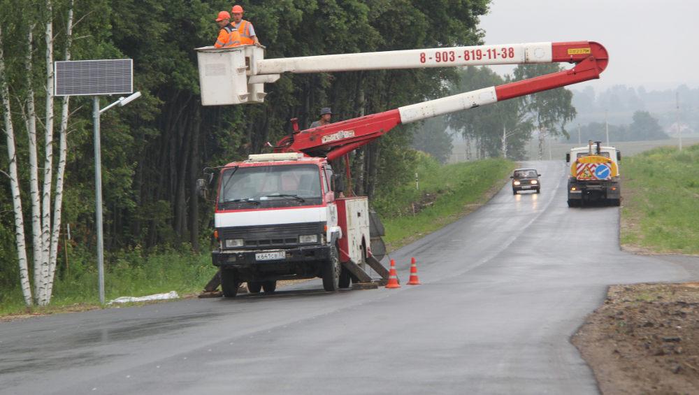 В Брянском районе отремонтировали дорогу до Теменичей