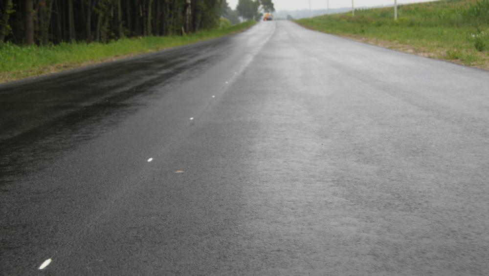 В Брянском районе отремонтировали 4 километра дороги до Теменичей