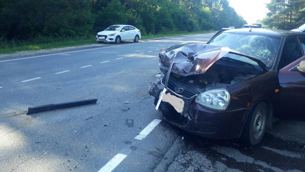 В ДТП под Унечей получили травмы 80-летний водитель и 50-летняя пассажирка