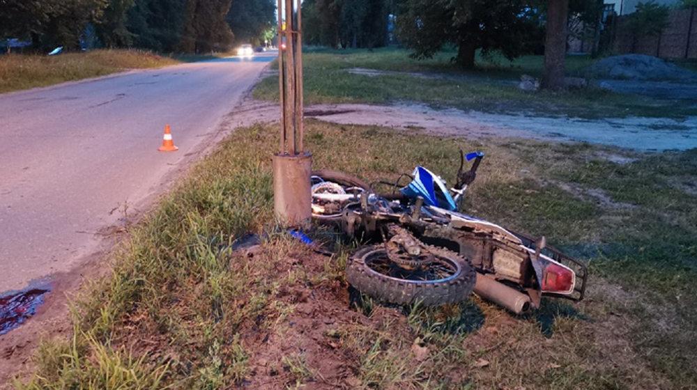 В Брянской области с начала июля в ДТП погибли пятеро мотоциклистов