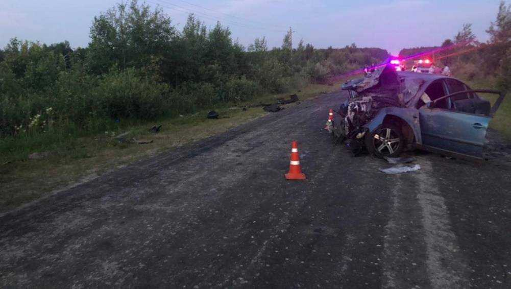 В Клетнянском районе в ДТП погибли двое взрослых и ранен 2-летний ребёнок
