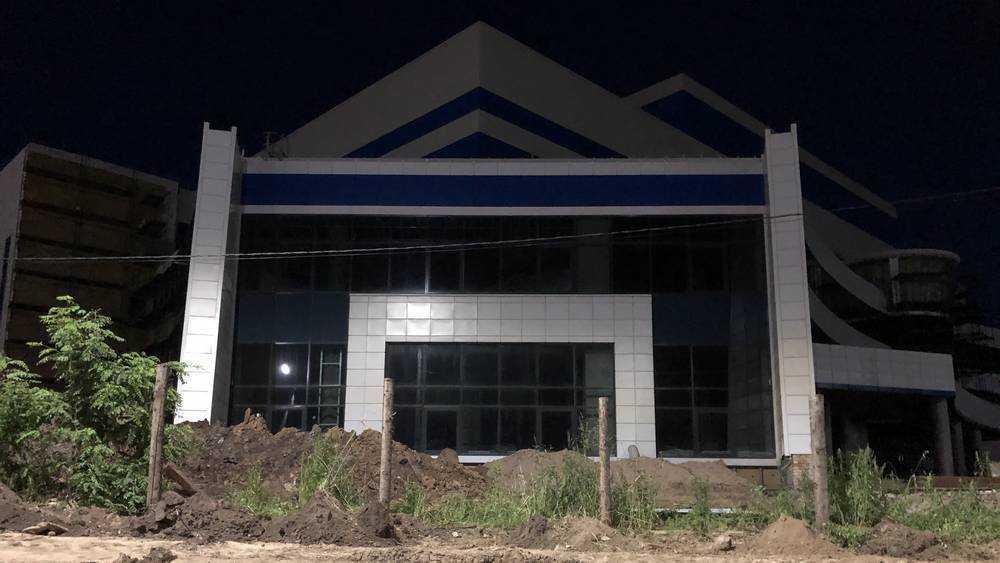В Брянске начали благоустройство территории нового Дворца единоборств