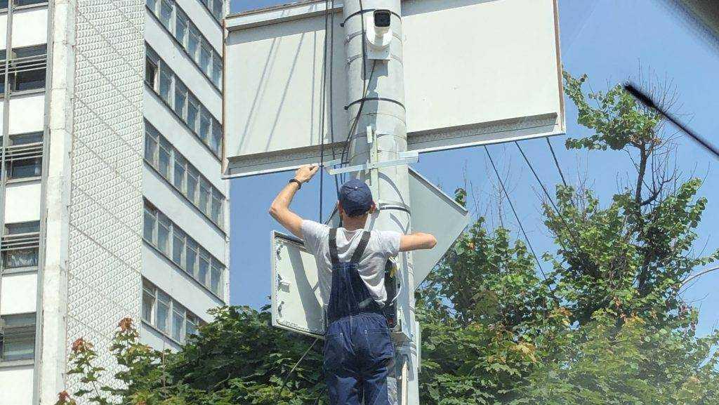 На дорогах Брянской области установили 80 камер фиксации нарушений ПДД