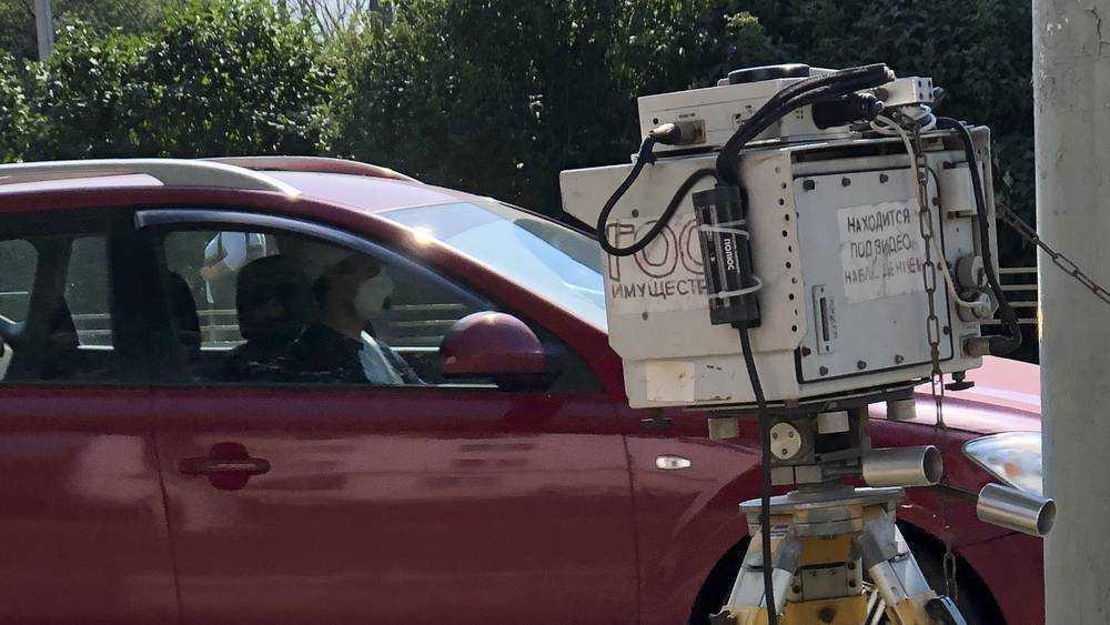 В Брянске заметили дорожную камеру на улице 22-го съезда