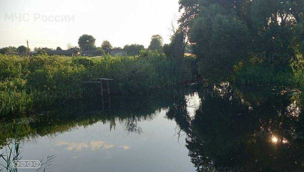В Брянской области в реке Трубеж возле границы утонул 35-летний мужчина