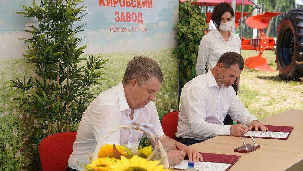 Брянская область будет сотрудничать с Петербургским тракторным заводом