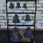 Брянский митрополит Александр освятил колокола храма в старом аэропорту