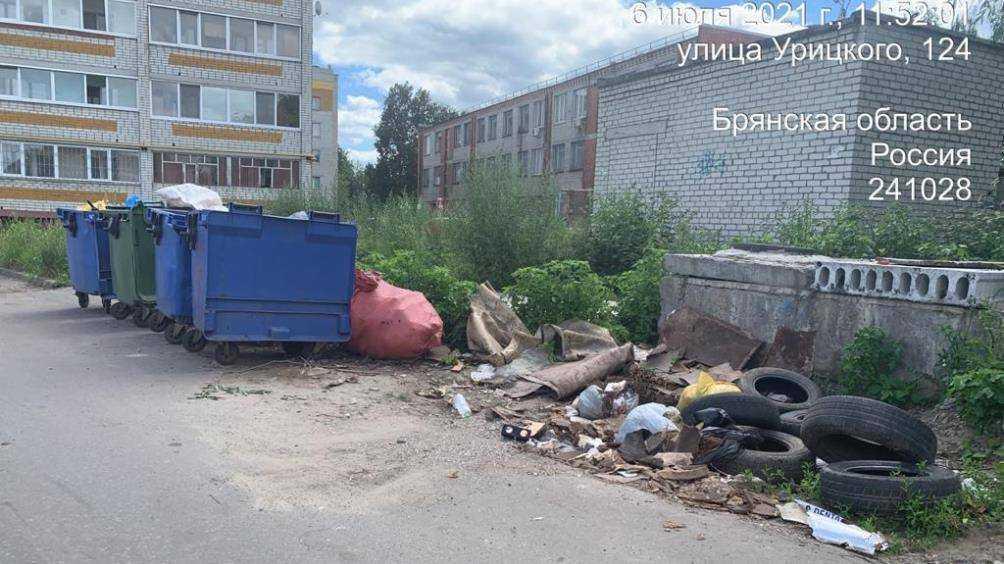 В Брянске «Спецавтопредприятие» накажут за свалку покрышек