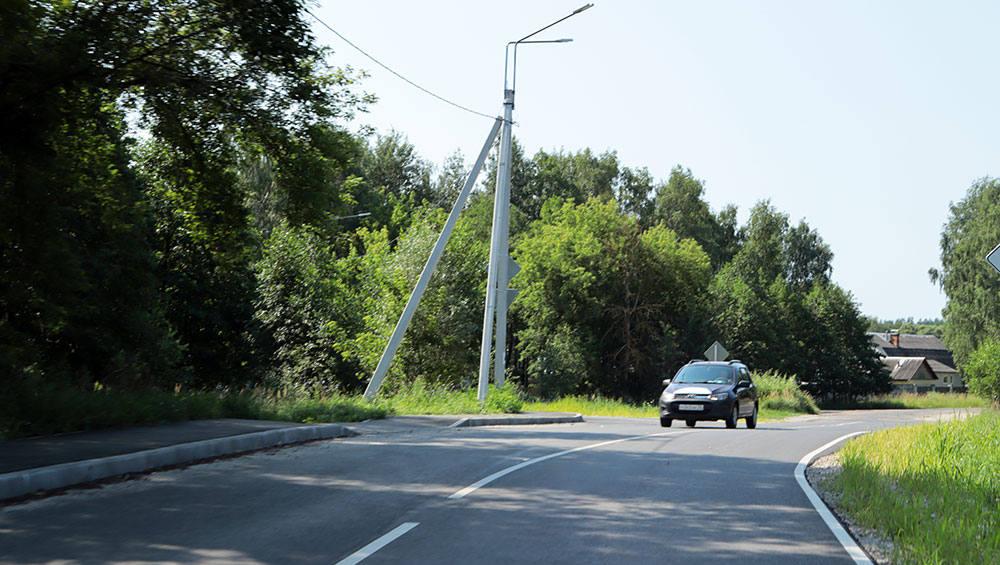 В Брянске за 43 миллиона рублей отремонтировали три дороги в Ковшовке