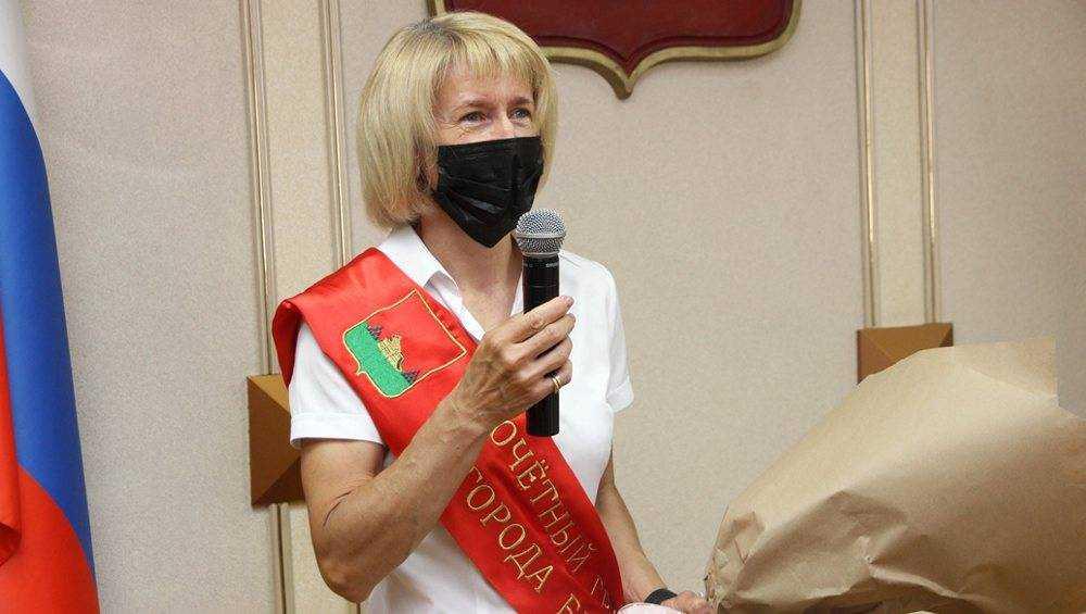 Лыжница Лариса Куркина стала почетным гражданином Брянска