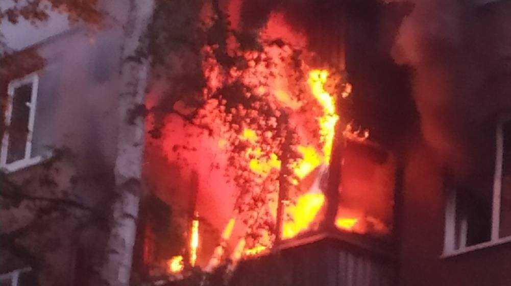 В Брянске у погибшей при пожаре возле цирка 42-летней женщины остались дети