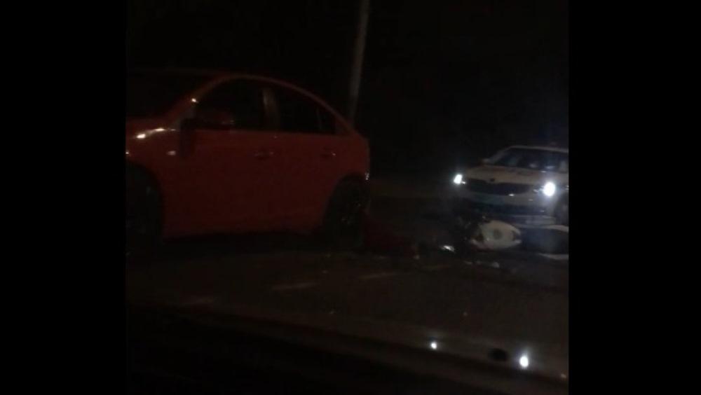 В Брянске сняли видео с места гибели 16-летнего мотоциклиста