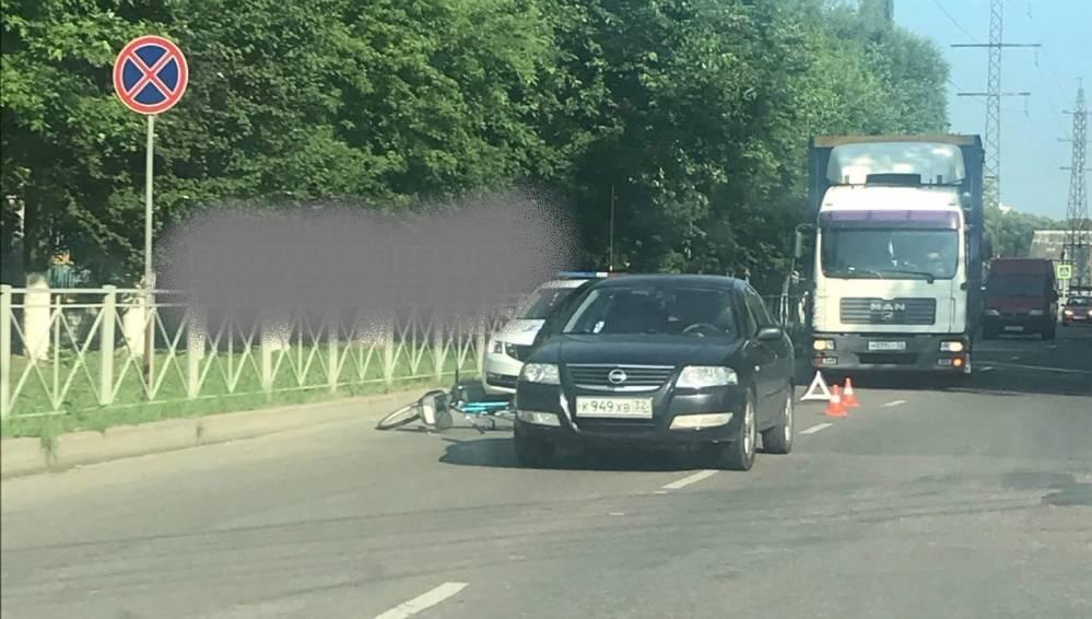 В Володарском районе Брянске велосипедист попал под иномарку