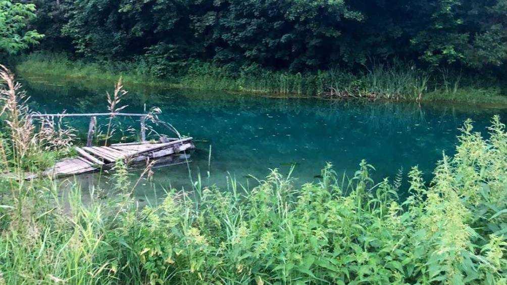 Жители Брянской области обнаружили озеро с кристально чистой водой
