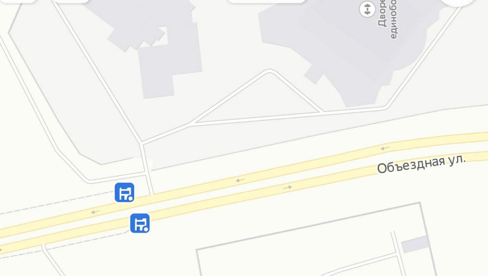 В Брянске закрыли остановку «По требованию» на улице Объездной