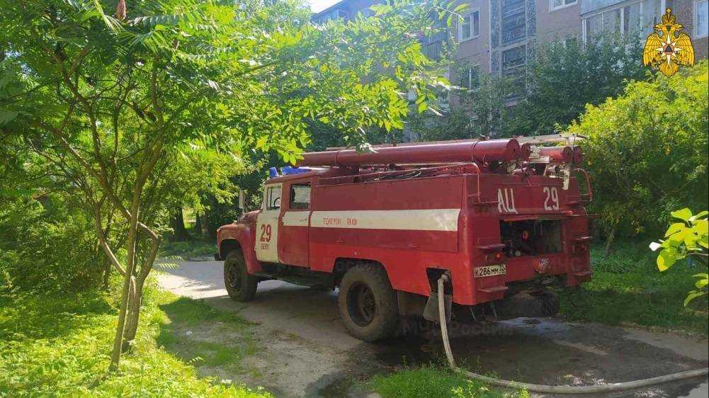 В Белых Берегах Брянской области при пожаре погиб 40-летний мужчина