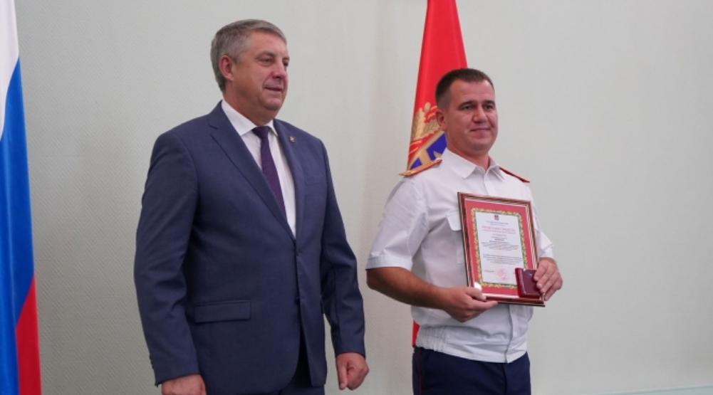 В Брянской области наградили 19 лучших следователей