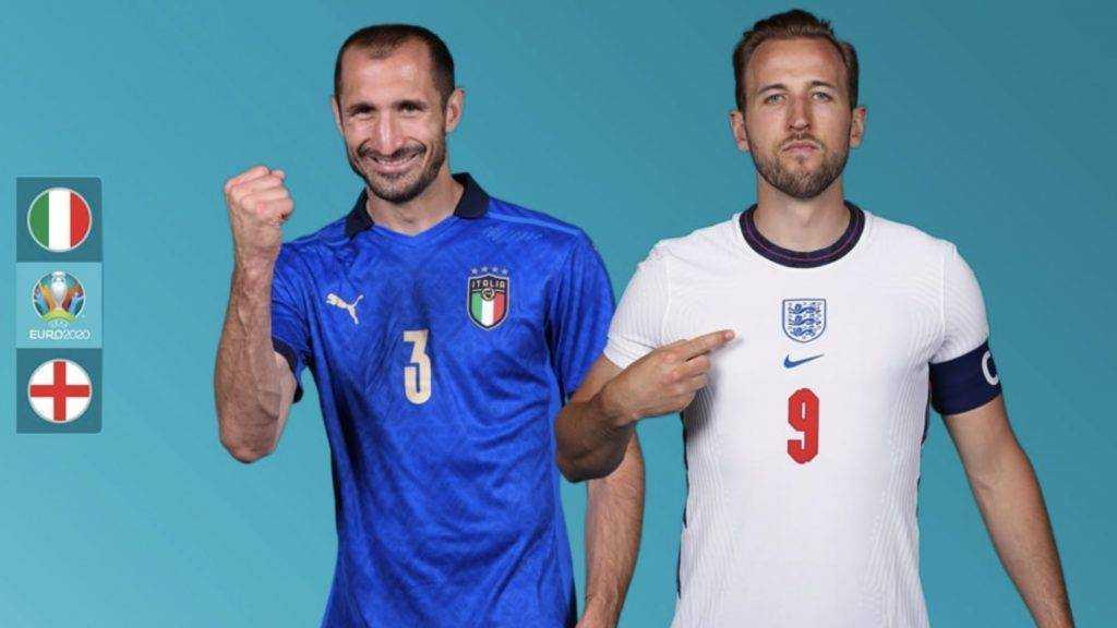 Сборные Англии и Италии разыграют титул чемпиона Европы по футболу