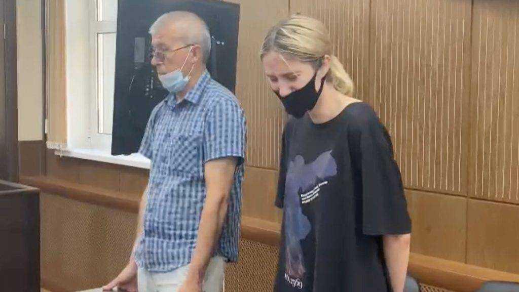 Суд отправил в СИЗО сбившую троих детей в Москве девушку