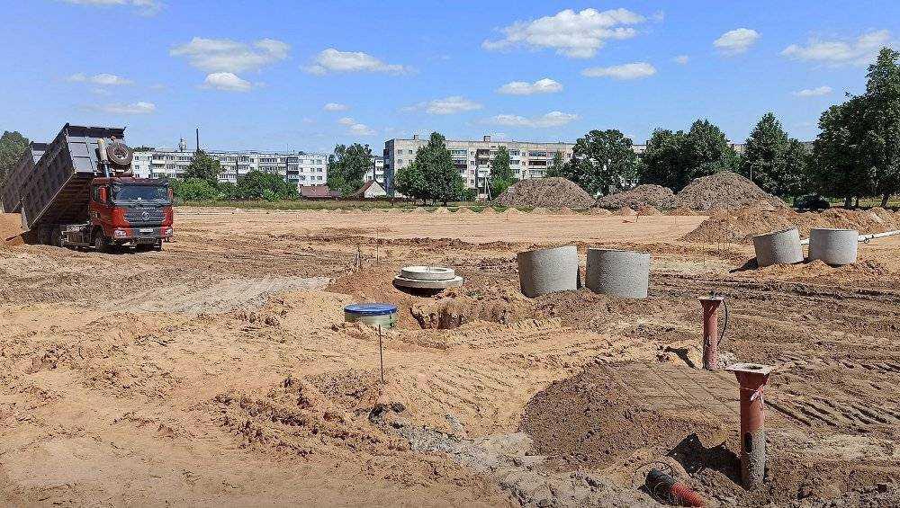 В Унече Брянской области проведут серьезную реконструкцию двух стадионов