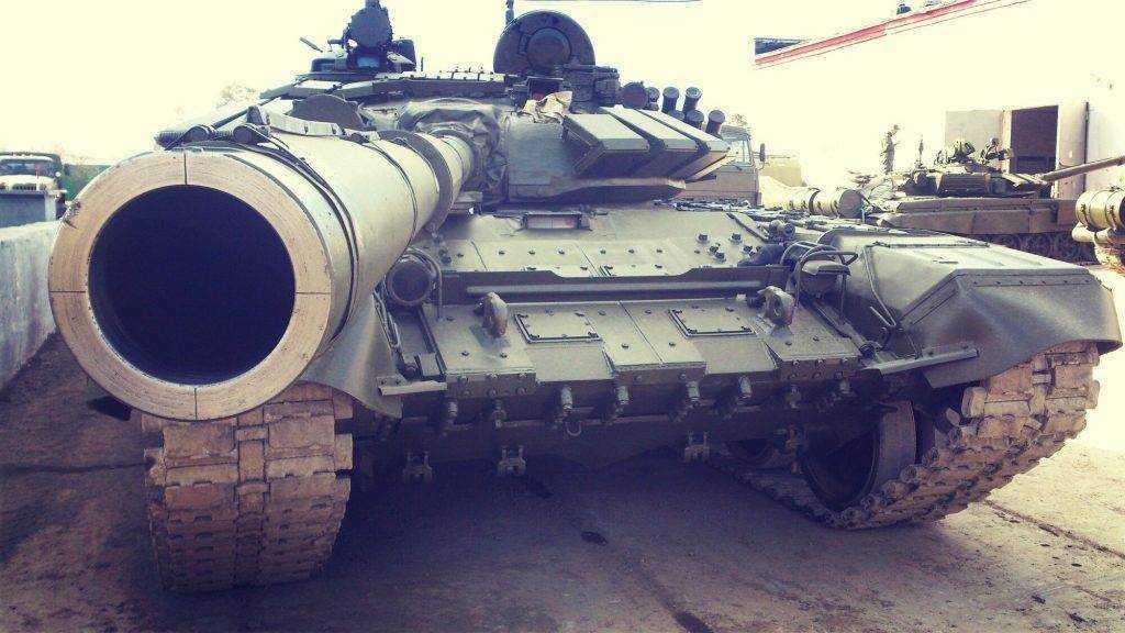 Брянского военнослужащего осудили за хищение брони танков Т-72