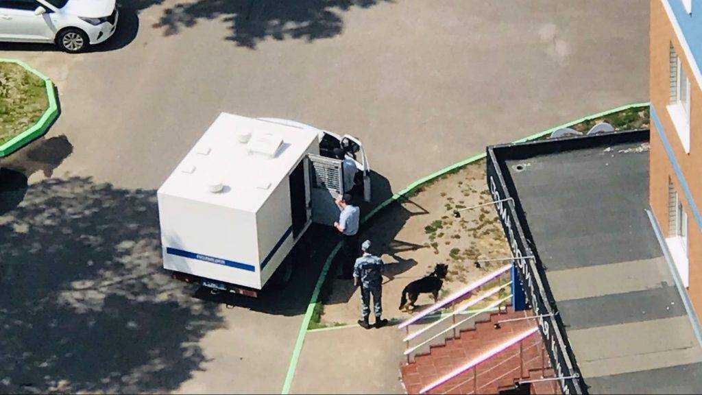 В Брянске в «Речной» следователи доставили арестованного для проверки показаний