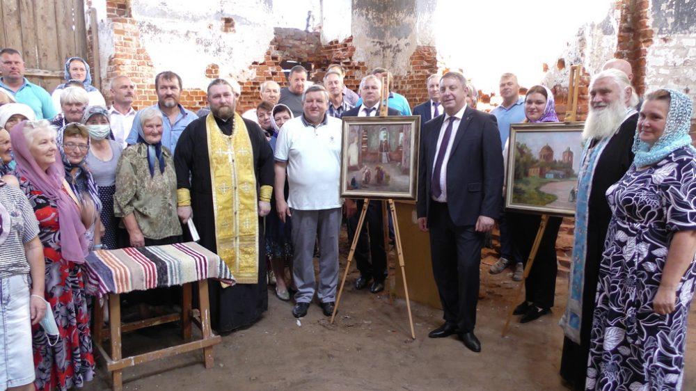 Брянский губернатор Богомаз предложил восстановить храм в Суземском районе