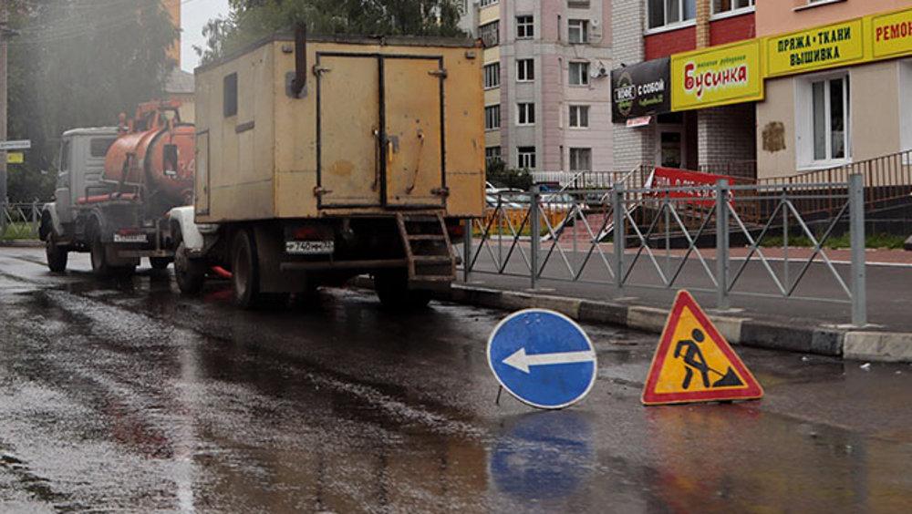 В Брянске восстановят поврежденный из-за ремонта водопровода асфальт