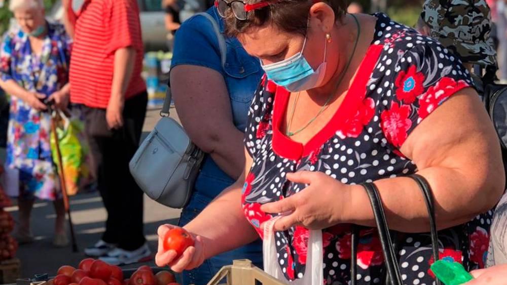 В Брянске на ярмарках выходного подешевели овощи и картофель