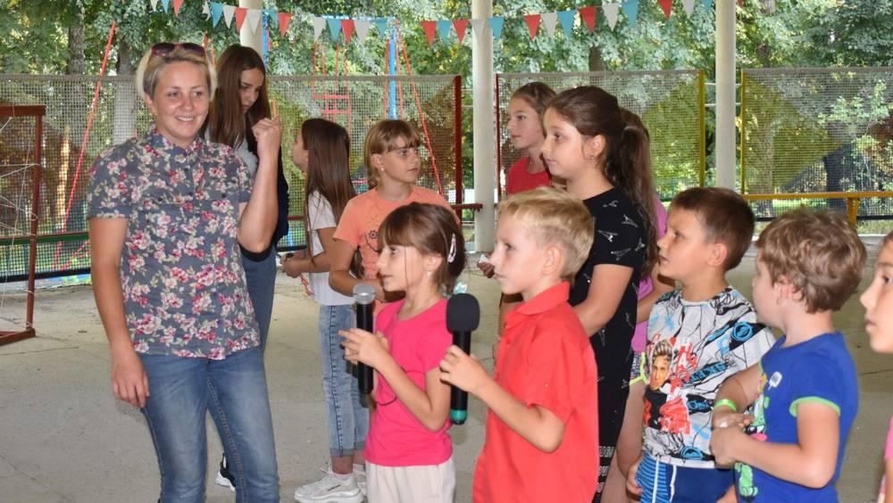 Обновлённый парк в Локте Брянской области восхитил взрослых и детей