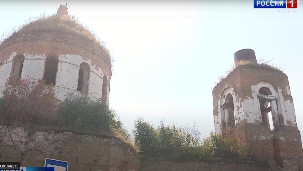 В Суземском районе восстановят уникальный храм, вмещавший 3000 прихожан