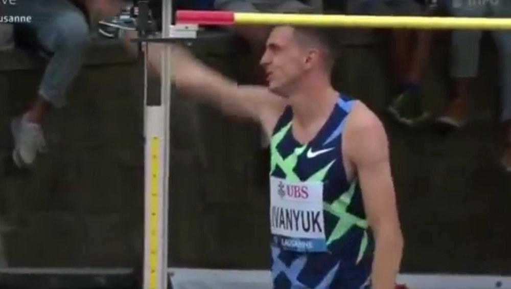 Брянский прыгун в высоту Илья Иванюк победил на этапе «Бриллиантовой лиги»