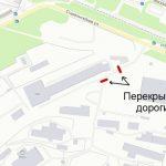 В Брянске возле улицы Сталелитейной самовольно перекрыли въезды впромзону