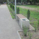 В Брянске скоро завершат обновление Пролетарского сквера с фонтанам