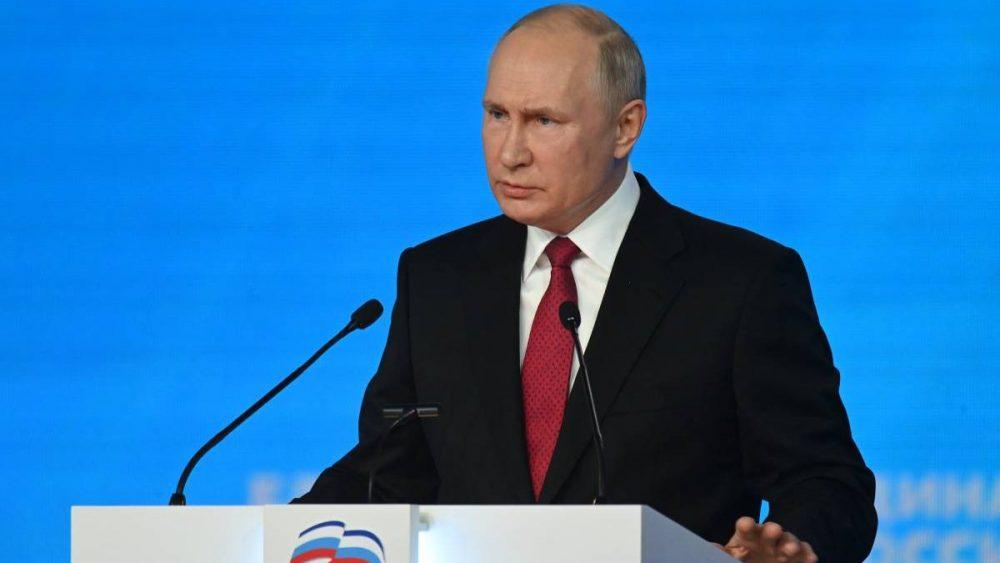 Владимир Путин обратился к россиянам в связи с выборами